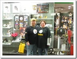 Jenn & I at Station Square